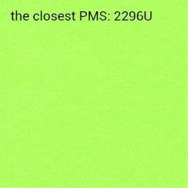 Auto-adhésif vert néon 70g/m2 (impression recommandée noir)