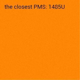 Auto-adhésif orange néon 70g/m2 (impression recommandée noir)