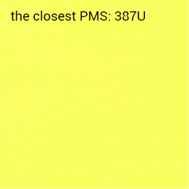 Auto-adhésif jaune néon 70g/m2 (impression recommandée noir)