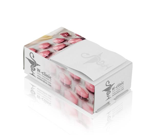 PM070 Boîte aux bloc-notes type Z