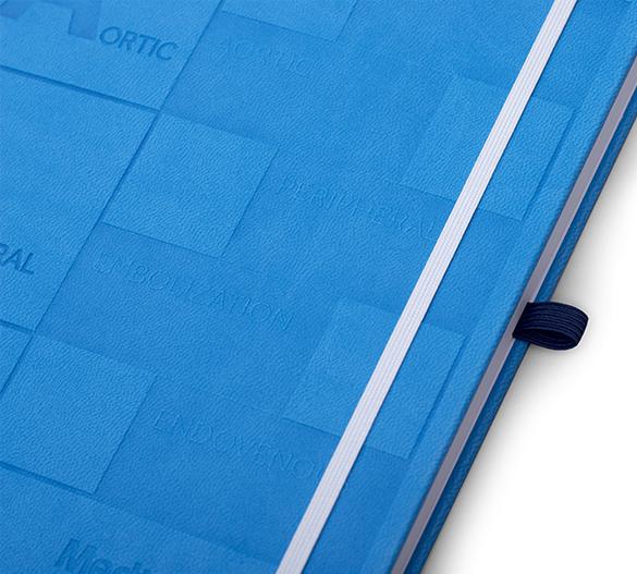 MN32 Mindnotes en couverture rigide en PU TORINO SOFT TOUCH
