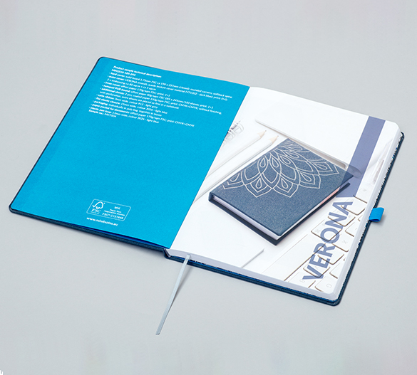 MN32 Mindnotes en couverture rigide en PU VERONA