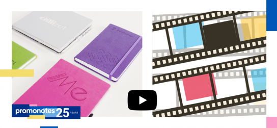Hardcover Mindnotes in a PU coating material. Check our latest video!