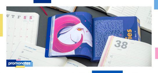 How to present your business with bespoke Mindnotes® diaries?
